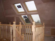 Loft conversion Birmingham rooflight