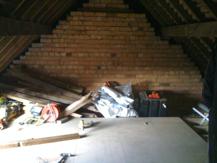 Loft conversion flooring