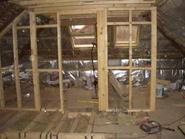 Loft conversion window frames