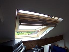 Loft conversion Birmingham rooflight